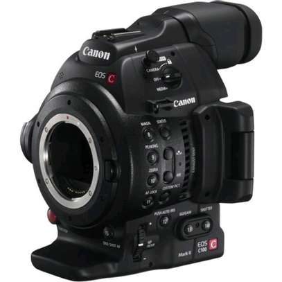 Canon EOS C100 Mark II Cinema EOS Camera with Dual Pixel CMOS AF image 4