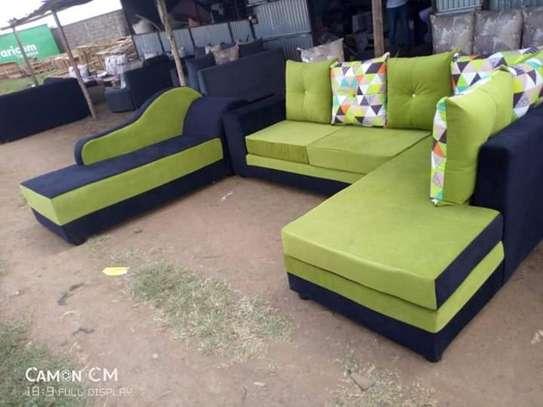 Corner Seat plus Sofa Bed image 1
