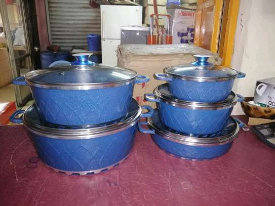 10 pieces Granite Coated Cookware Set image 2
