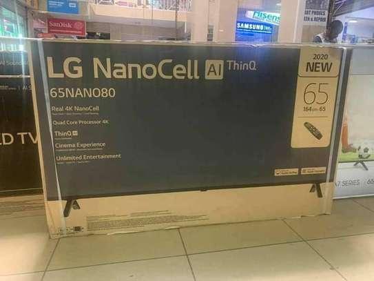 65NANO80VNA LG 65 Inch HDR 4K UHD Smart NanoCell TV image 1