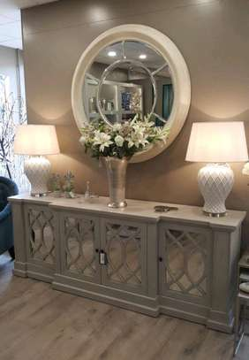 Wooden buffet table ideas/Best buffet table makers in Nairobi Kenya/too rated home Furniture manufacturers in Nairobi Kenya image 1