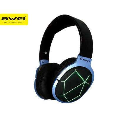 Awei A799BL Foldable Wireless Bluetooth Gaming Headphones With Mic image 1