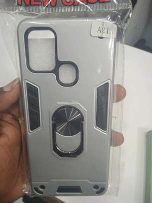 Samsung A21S back covers and glass protectors(shop) image 1