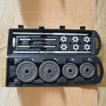50kgs adjustable dumbbells kit image 2