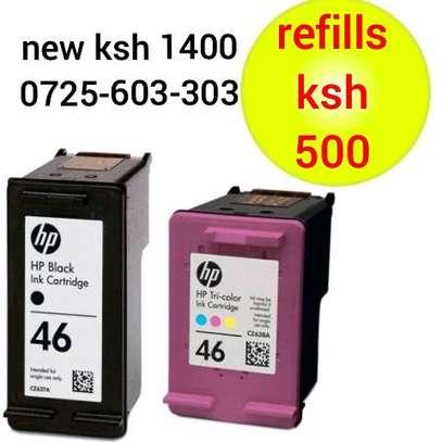 46 inkjet cartridge coloured and black image 1