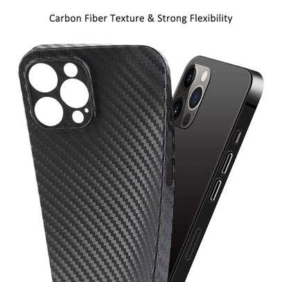 Memumi iPhone 12 Pro Max Carbon fiber Case image 4