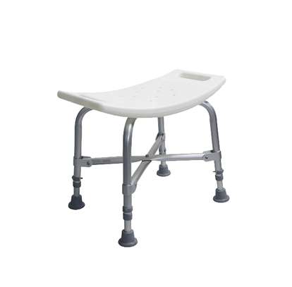 Bathroom Bench With Adjustable Height - shower chair image 2