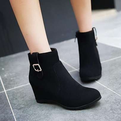 Wedged ankle boots available