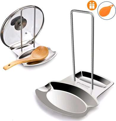 Serving spoon and lid rest image 1