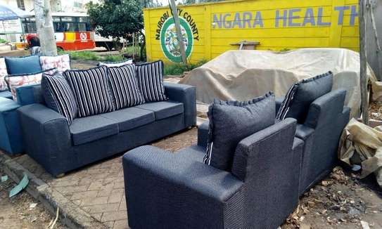 Ready Made Simple Quality 5 Seater Sofa image 1