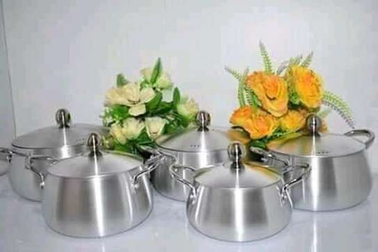5pc aluminium cookware sets