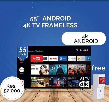 55 Skyworth Android 4K UHD TV image 1