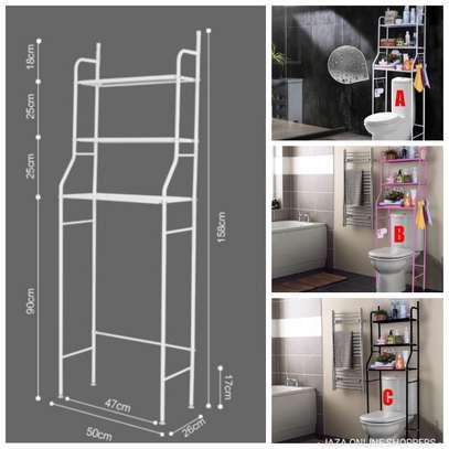 Toilet/bathroom rack