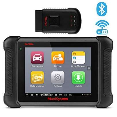 Autel MaxiSys MS906BT Bluetooth Automotive Scan Tool Diagnostic Scanner with ECU Coding, Key Coding, Bi-Directional Control, Oil Reset, ABS, SRS, DPF, EPB, TPMS, Advanced Ver. of MS906 DS808 MK808 image 1