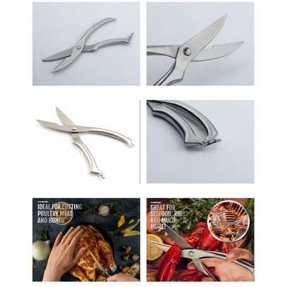 Stainless Steel Kitchen Scissors image 2