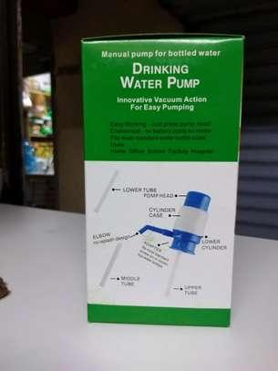 Manual Water Bottle Pump, Easy Drinking Water Pump. image 2