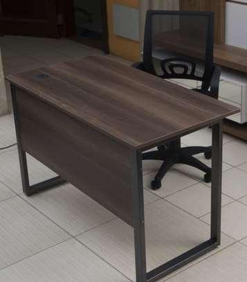 Peter Steel Frame Office Desk & Chair Combo