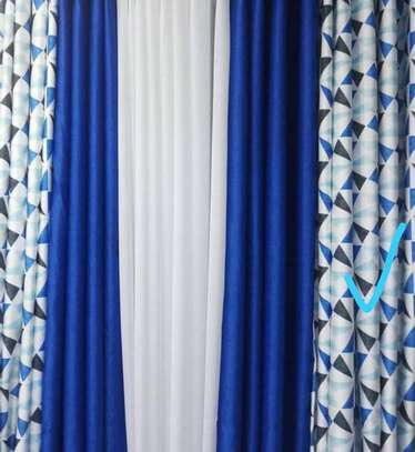 Nicely matched Curtains image 1