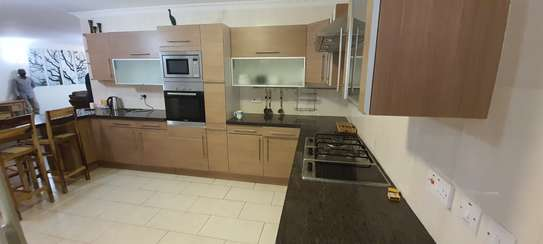 Furnished 3 bedroom apartment for rent in Kileleshwa image 1