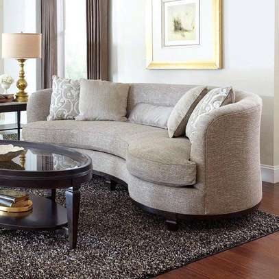 Fabulous Modern Quality Curved 4 Seater Sofa