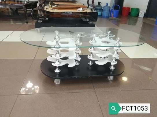 Glass-top Coffee Table image 4