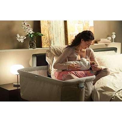 "Side Sleeping Crib Next2Me ""Dove Grey"" Baby Crib Next 2 Me, baby bed,baby cot. image 2"