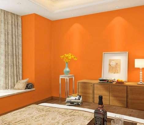 wallpaper deep orange image 1