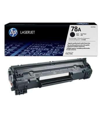 HP 78A Black Original LaserJet Toner Cartridge (CE278A) image 1