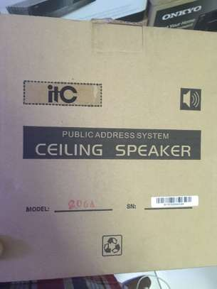 ITC T-208A 8-inch Coaxial Ceiling Speaker image 2
