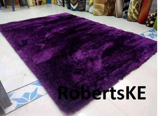 soft decorative purple curtain image 1