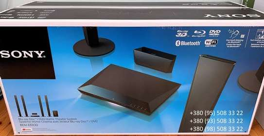 Sony BDV-E6100 5.1-Ch Blu-Ray Wi-Fi 4-Way Home Theatre System - 1000WATTS + BLUETOOTH image 2