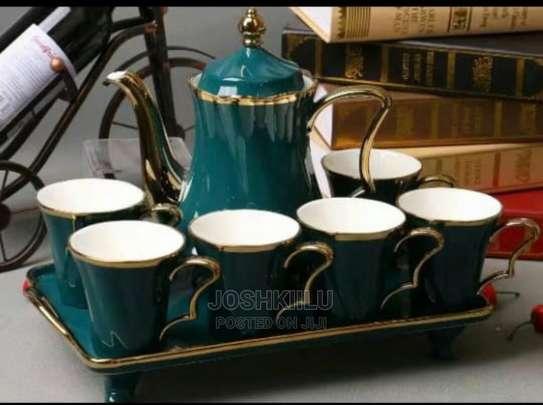 7pcs Tea/Coffe Set image 3