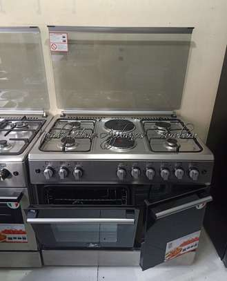 Masterchef 4G+2E Cooker (Decorated Top, Flame Failure Device) image 1