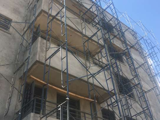 Scaffolding frames for hire image 1
