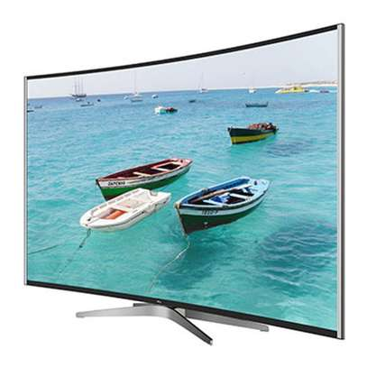 TCL curved 55 inch digital smart android 4k TV image 1