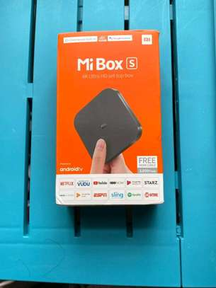 XIAOMI Mi Box S - 4K Android TV Box - Streaming Media Player with Google Assistant - Chromecast Built-in