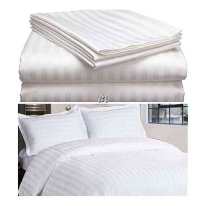 Turkish White Cotton Bed sheets image 2