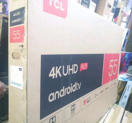 55C8 SMART ANDROID 4QUHD TV -AL-IN SERIES , NETFLIX,YOUTUBE image 2