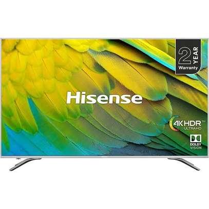 Hisense 50 inches Q-LED Android UHD-4K Smart Digital TVs image 1