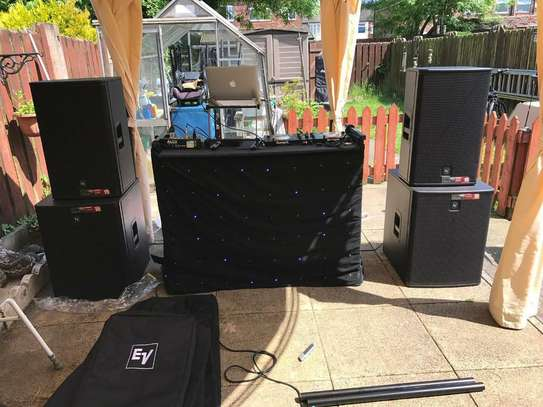 SOUND SYSTEM / PUBLIC ADDRESS FOR HIRE