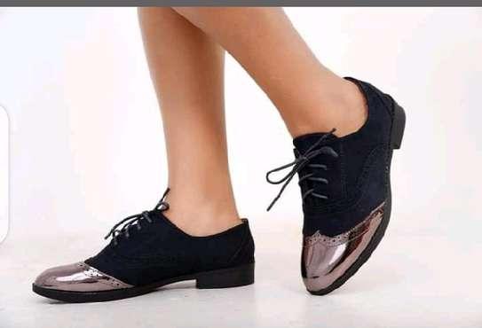 Black Victoria shoes image 1