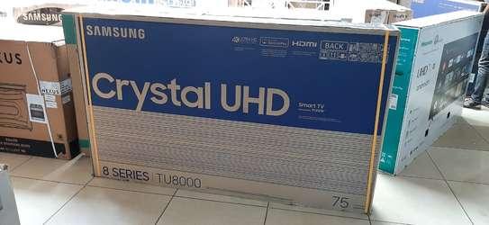 75 inch Samsung  75TU8000   UHD 4k tv image 1