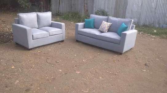 Beautiful Simple Modern 5 Seater Sofa Set image 1