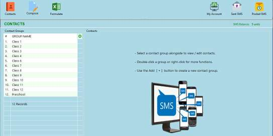 Simple And Efficient Bulk SMS Windows Desktop Application