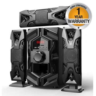 Clubox IC-1203- 12000w BLACK Multimedia Speaker System image 1