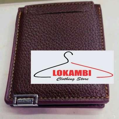 Men leather wallet image 1