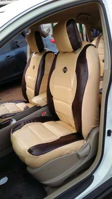 NISSAN DURABLE CAR SEAT COVERS image 1