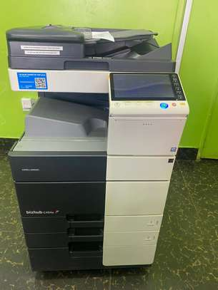 Newest Multifunctional Konica Minolta Bizhub C454 Photocopier Machine image 1