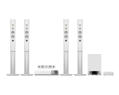 N9200 white blue ray home theater system image 1