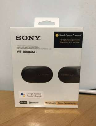 Sony WF-1000XM3 Noise Canceling Truly Wireless Earbuds - New image 1